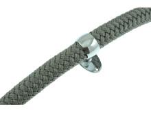 Trappräckslina / Dekorationslina Design silvergrå