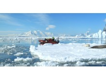 Expedition with Hurtigrutens Polar Circle Boat in Antarctica