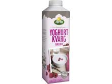 Yoghurtkvarg hallon