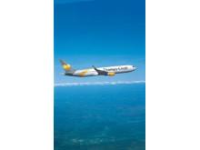 - Vores seks nye fly indgår i en pulje på hele 25 A321-fly, som Thomas Cook Airlines Group har bestilt hos Airbus, siger Torben Østergaard, administrerende direktør i Thomas Cook Airlines Scandinavia.