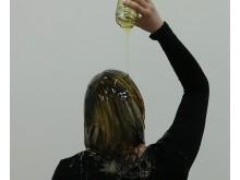 Scene from Alexandra Brunt's film work, Spit and Honey. Copyright © the artist