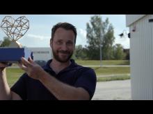 David Zehlertz på Bålstadoktorn tilldelades årets Guldhjärta.