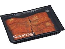 Korshags - EKO Varmrökt laxfilé, citronpeppar, MAP