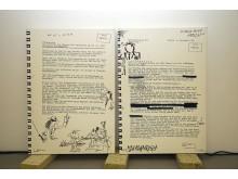 Udo Lindenberg - Zwischentöne: Ausstellung im Museum der bildenden Künste - Exponat Lindenbergs Stasi-Akte