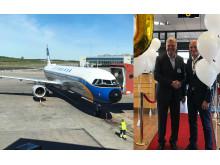 Lufthansa 60 år på svenska flygmarknaden