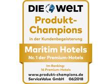 Gütesiegel Produkt-Champion