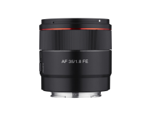 Samyang AF 35mm F1.8 FE Product Image 04 - No_hood_Front