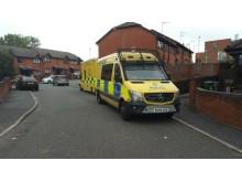 Police in Tranmere
