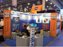 Cavotec OTC 2011 stand set for action