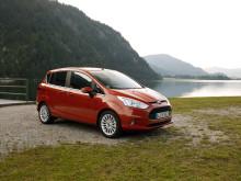 Nye Ford B-MAX lanseres i Norge i høst