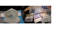 Operation Stronghold drugs and cash seizure