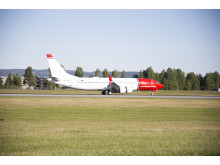 Norwegianin ensimmäinen Boeing 737 MAX