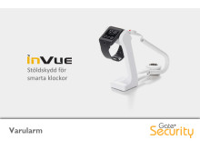 Varularm från Gate Security - Wearable Security WS1, InVue