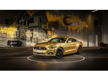 Gylden Ford Mustang