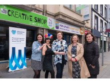 Big Telly brings the Arts to the High Street in Carrickfergus
