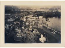 Historisk bild av Baltiska utställningen 1914