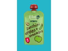Zucchini äpple + avokado