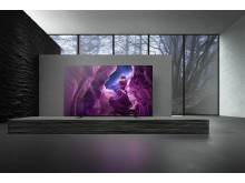 BRAVIA_65A8_4K HDR OLED TV_Lifestyle_01