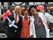 SSKM KlinikClowns mit Ralf Fleischer