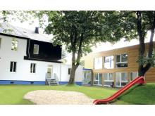 Moderner Modulbau trifft auf herrschaftliche Villa