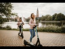Sightseeing auf E-Scootern