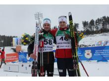 Aslak Nenseter og Vemund Ravnsborg Gurigard, normalprogram menn, Junior-VM Minsk