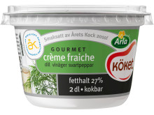 Arla Köket® crème fraiche gourmet dill, vinäger, svartpeppar