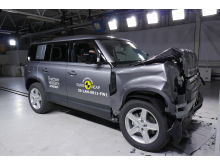 Land Rover Defender - Full Width Rigid Barrier test 2020
