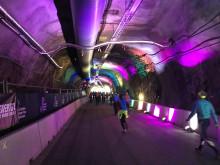 Stockholm Tunnel Run Citybanan 2017 - Tunneln