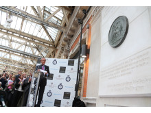 «Norsk» Waterloo-minnesmerke avduket i London i 10.juni 2015