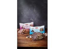 Friggs majskakor doppade i choklad
