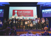 Alle vinnerne av Kundeserviceprisen 2017