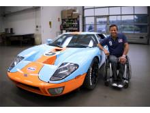 Jason Watt og hans Ford GT