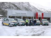 Vi gratulerer Total Trafikkhjelp AS med 5 nye varebiler