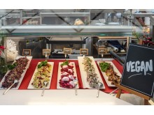 Viking Lines julbord 2019, vegansk sill