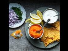 Chips av Västerbottensost
