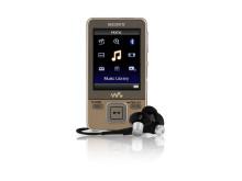 NWZ-A820_headphones_gold