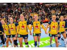 Swebar officiell supplier till damlandslaget i handboll