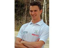 Timmy Hansen kör Peugeot 208 WRX i Rallycross-VM