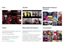 Sosiale mediekanaler