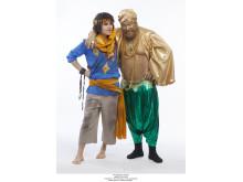 Charlie Grönvall och Claes Malmberg i Äventyret Aladdin