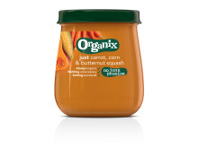 Organix just carrot, corn & butternut squash