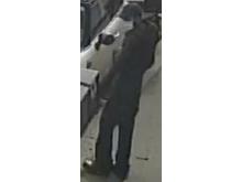 Still image of the man police seek to identify