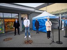Pressefoto Eröffnung Schnelltest-Zentrum Schwerin_Uwe Nölke