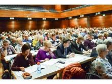 Auditorium beim 10. Kongress der Deutschen Alzheimer Gesellschaft in Weimar