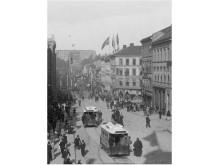 Historisk bilde Karl Johan og Slottet