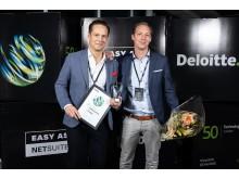Sweden Technology Fast 50, Global gaming 555 vinnarna