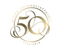 Logotyp för 50-årsjubileet