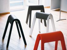 Sitzböcke animieren zu Haltungswechseln