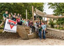 Scheckübergabe CVJM Jugendheim
